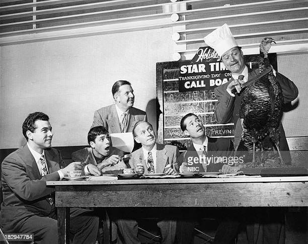 TIME 'Elgin Annual Two Hours of Star' Pictured Mario Lanza Jerry Lewis Ken Carpenter Jack Benny Don Ameche Red Skelton