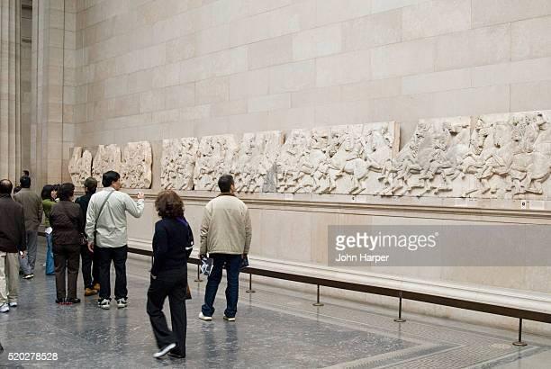 Elgin Marbles on Display at British Museum