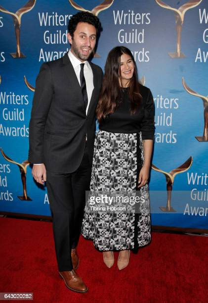 Eli Bauman and Guest attend the 2017 Writers Guild Awards LA Ceremony at The Beverly Hilton Hotel on February 19 2017 in Beverly Hills California