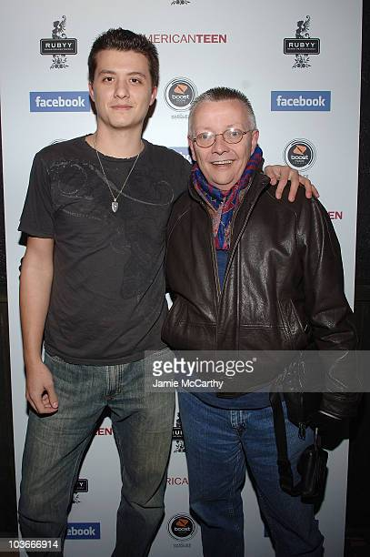 Eli Buell and Cip Coffey attend the After Party for American Teen at the Boost Mobile Lounge at Marquee on January 19 2008 in Park City Utah