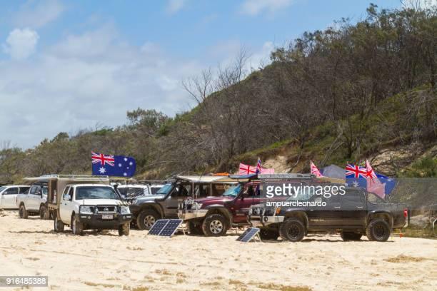 eli creek, fraser island, australia - australia day stock pictures, royalty-free photos & images