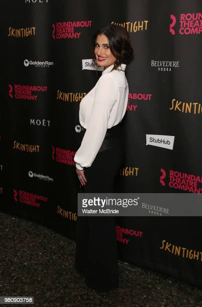 Eli Gelb during the OffBroadway Opening Night photo call for the Roundabout Theatre Production of 'Skintight' at the Laura Pels Theatre on June 21...