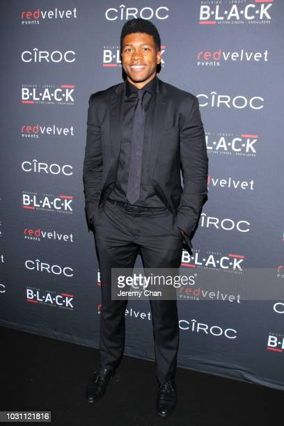 Eli Goree attends Stephan James And Shamier Anderson Host Third Annual BLACK Ball at TIFF Bell Lightbox on September 10 2018 in Toronto Canada