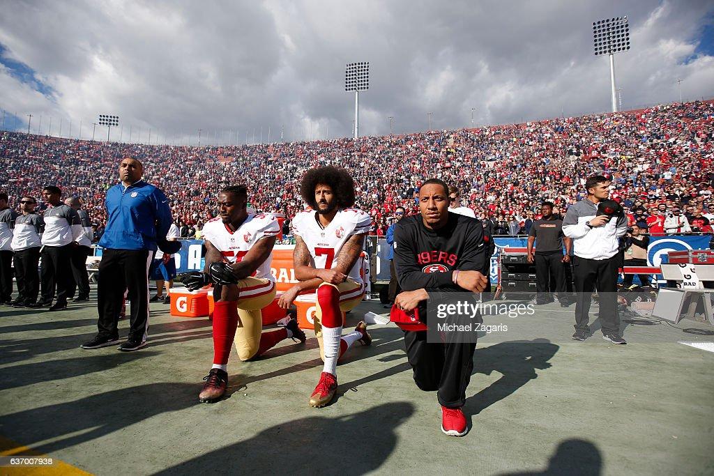 San Francisco 49ers v Los Angeles Rams : News Photo