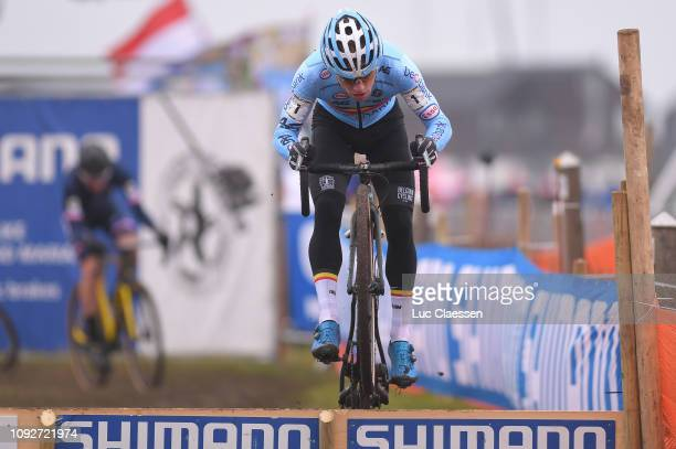 Eli Iserbyt of Belgium and Team Belgium / during the 70th Cyclo-cross World Championships Bogense 2019, Men Under 23 / Cross Denmark / @Bogense2019 /...