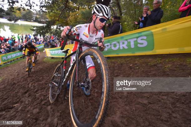 Eli Iserbyt of Belgium and Team Pauwel Sauzen - Bingoal / during the 2nd Bern Cyclocross World Cup 2019 - Men Elite / @ekzcrosstour / @UCI_CX /...