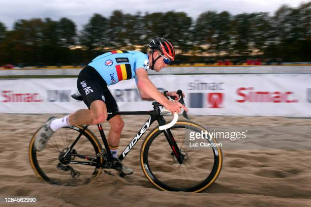 Eli Iserbyt of Belgium / during the 18th UEC European Cyclocross Championships 2020, Men Elite / @UEC_cycling / #EuroCross20 / CX / on November 08,...