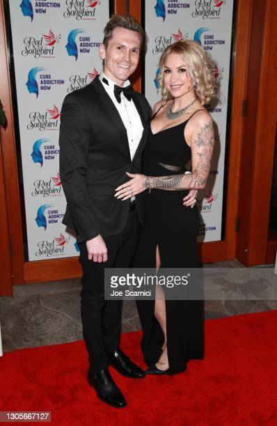 """Eli James and Tara Conner attend a private event with the cast of MTV's """"The Hills"""" hosted by Cure Addiction Now & The Red Songbird Foundation on..."""