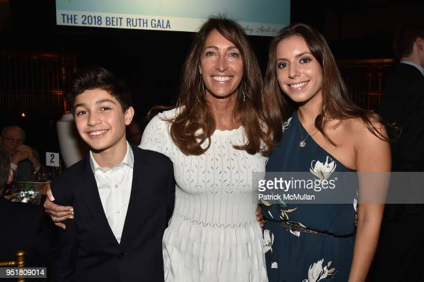 Eli Kerret Lisa Silverstein and Ariel Silverstein attend the 2018 Beit Ruth Gala at Gotham Hall on April 26 2018 in New York City