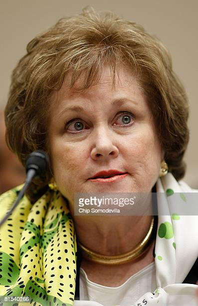 Eli Lilly and Company Vice President of Scientific Affairs Gail Cassell testifies before the House Subcommittee on Oversight and Investigations June...