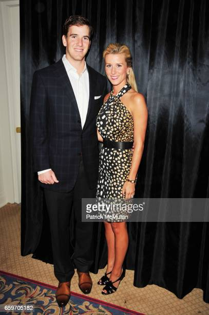 Eli Manning and Abby Manning attend PHOENIX HOUSE - Phoenix Rising Award Dinner at The Plaza N.Y.C. On March 30, 2009 in New York City.