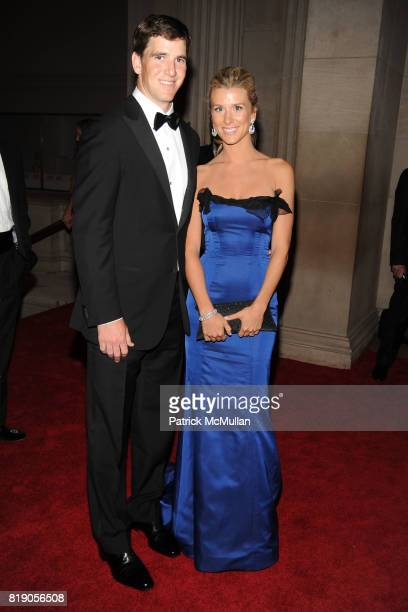 Eli Manning and Abby Manning attend THE METROPOLITAN MUSEUM OF ART'S Spring 2010 COSTUME INSTITUTE Benefit Gala at THE METROPOLITAN MUSEUM OF ART on...