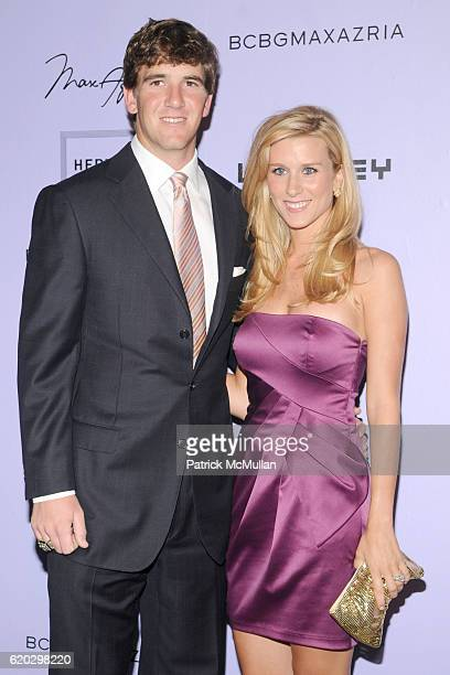 Eli Manning and Abby McGrew attend Whitney Contemporaries Host ART PARTY Presented by BCBGMAXAZRIA at Skylight Studios on June 17 2008 in New York...