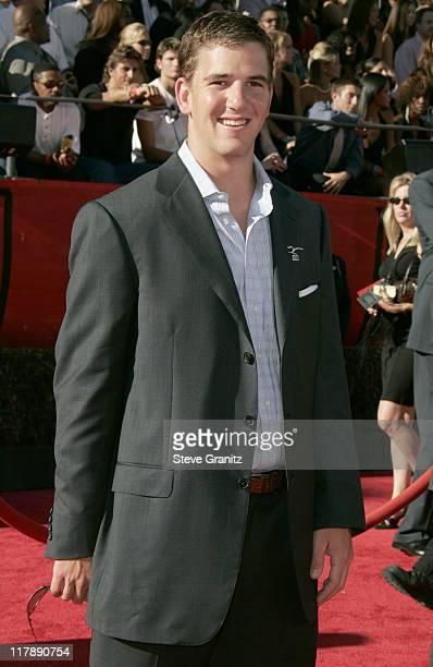 Eli Manning during 2004 ESPY Awards Arrivals at Kodak Theatre in Hollywood California United States