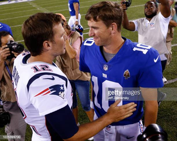 24 Eli Manning Tom Brady Pictures, Photos & Images - Getty