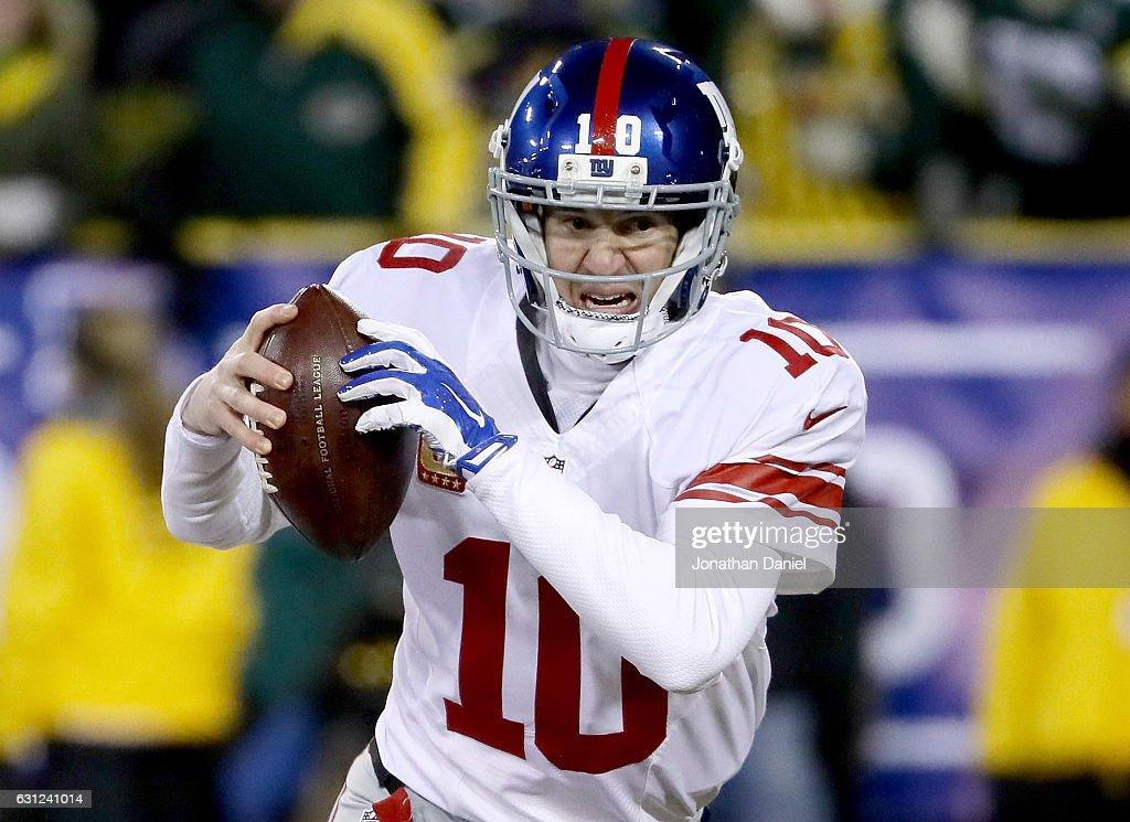 Wild Card Round - New York Giants v Green Bay Packers : ニュース写真