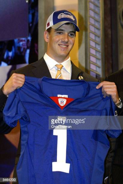Eli Manning was selected first pick overall by the San Diego Chargers then traded to the New York Giants for Philip Rivers and 3 draft picks at the...