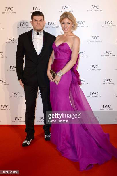Eli Mizrahi and Hofit Golan attend the exclusive For The Love Of Cinema event hosted by Swiss luxury watch manufacturer IWC Schaffhausen at the...
