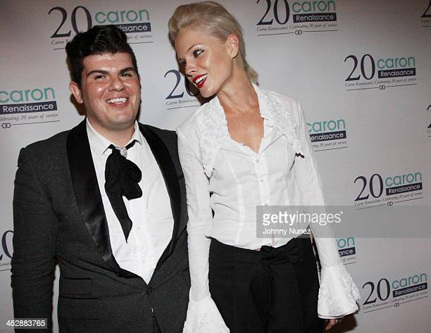 Eli Mizrahi and Kate Nauta attend the Caron Renaissance 20th Anniversary event at Butter on September 23 2009 in New York City