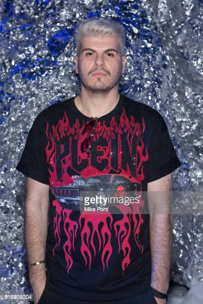 Eli Mizrahi attends the Philipp Plein fashion show during New York Fashion Week The Shows on February 10 2018 in New York City