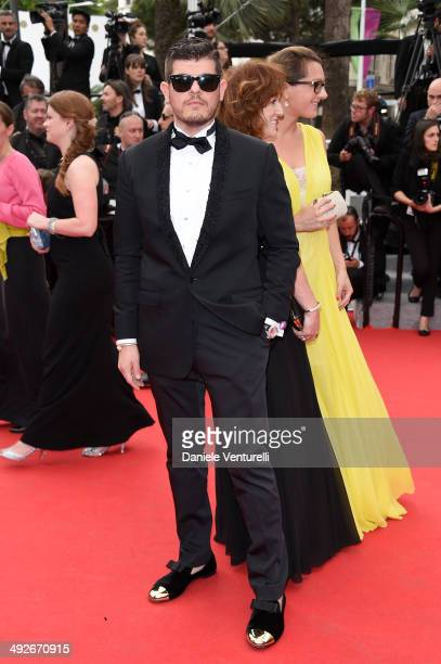 Eli Mizrahi attends The Search Premiere at the 67th Annual Cannes Film Festival on May 21 2014 in Cannes France