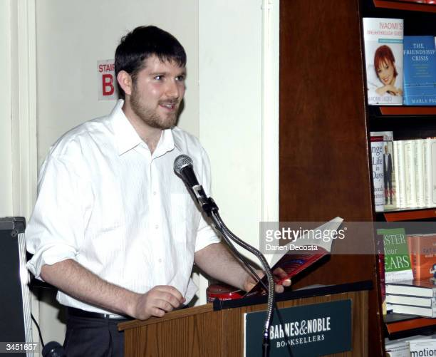 Eli Pariser Campaign Director of MoveOnorg reads his story from MoveOnorg's new book 50 Ways to Love Your Country at the Barnes and Noble at Astor...