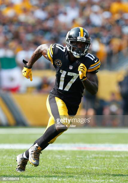 Eli Rogers of the Pittsburgh Steelers in action against the Minnesota Vikings on September 17 2017 at Heinz Field in Pittsburgh Pennsylvania