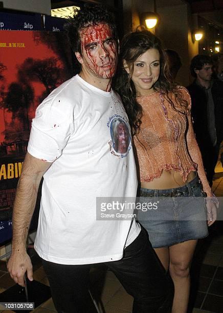 Eli Roth and Cerina Vincent