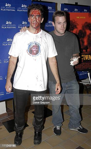 Eli Roth and James DeBello during Los Angeles Film Festival Screening of Lions Gate Cabin Fever at Laemmle's Sunset 5 Cinemas in West Hollywood...
