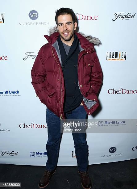Eli Roth attends ChefDance 2015 presented by Victory Ranch and sponsored by Merrill Lynch, Freixenet, Anchor Distilling, and Premier Meat Co. On...