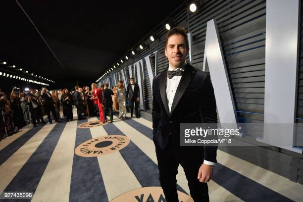Eli Roth attends the 2018 Vanity Fair Oscar Party hosted by Radhika Jones at Wallis Annenberg Center for the Performing Arts on March 4 2018 in...