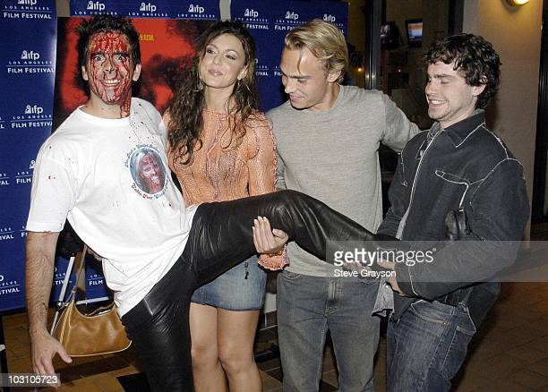 Eli Roth Cerina Vincent Joey Kern and Rider Strong