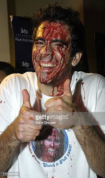 Eli Roth during Los Angeles Film Festival Screening of Lions Gate Cabin Fever at Laemmle's Sunset 5 Cinemas in West Hollywood California United States