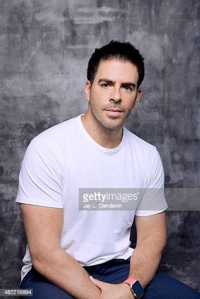 Eli Roth of 'The Green Inferno' poses for a portrait at ComicCon International 2015 for Los Angeles Times on July 9 2015 in San Diego California...