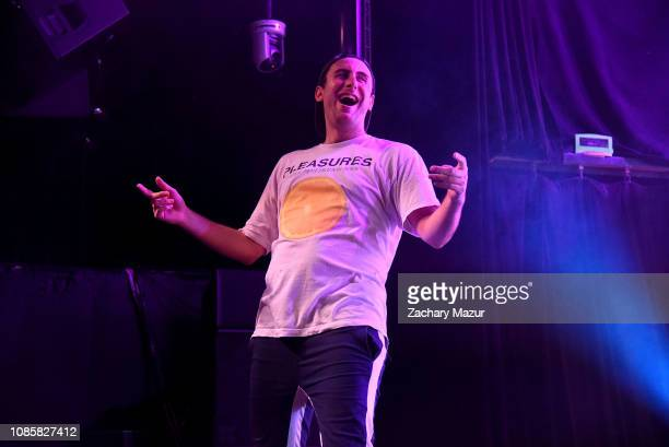 Eli Sones of Two Friends performs during the With My Homies Tour at Irving Plaza on January 19, 2019 in New York City.