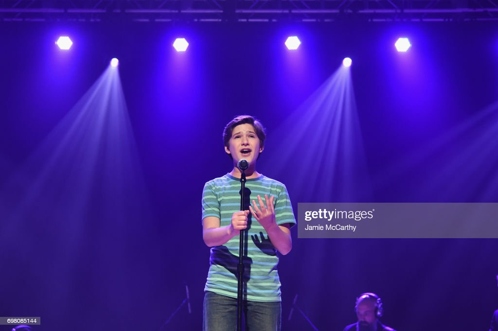 Eli Tokash performs onstage during The Trevor Project TrevorLIVE NYC 2017 at Marriott Marquis Times Square on June 19, 2017 in New York City.