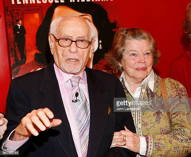 Eli Wallach and Ann Jackson attend Tennessee Williams on Screen and Stage at The Times Center on December 9, 2009 in New York City.