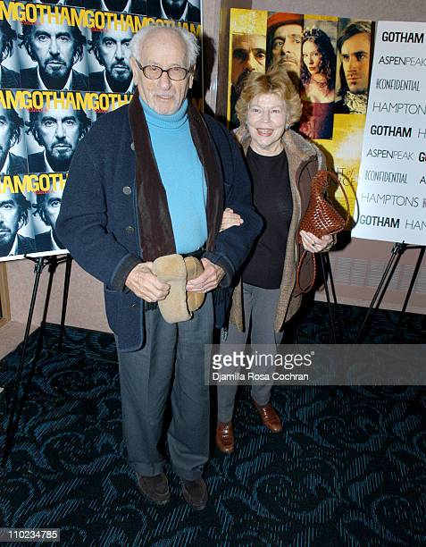 """Eli Wallach and Anne Jackson during Gotham Magazine Presents the New York City Premiere of """"The Merchant of Venice"""" - Arrivals at Regal Cinemas -..."""