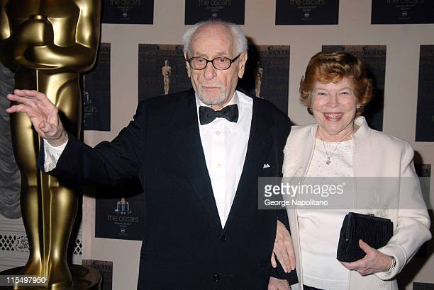 Eli Wallach and Anne Jackson during The Academy of Motion Picture Arts and Sciences Official New York 2007 Oscar Party at St. Regis Hotel in New York...