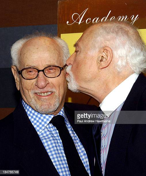 Eli Wallach and Gene Sachs during 19th Annual Academy of the Arts Lifetime Achievement Awards Gala conducted by Guild Hall of East Hampton, NY at The...