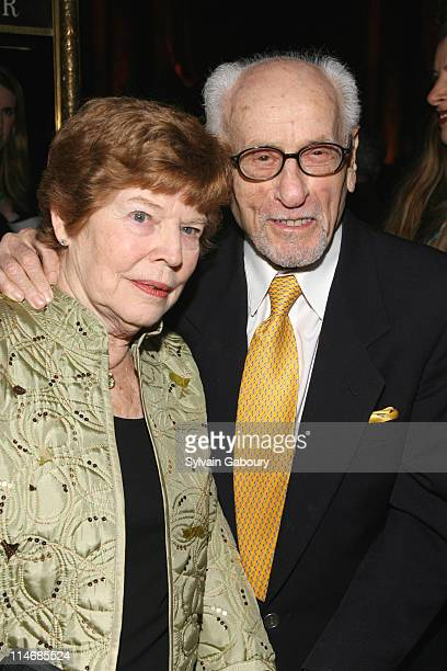 Eli Wallach and guest during The 2006 National Board of Review of Motion Pictures Awards Gala - Inside Arrivals. At Cipriani's 42nd Street in New...