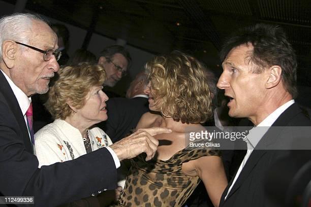 Eli Wallach, Anne Jackson, Natasha Richardson and Liam Neeson