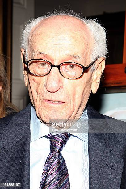 Eli Wallach attends the 2011 Players Foundation for Theatre Education Hall of Fame Inductions at The Players Club on May 1, 2011 in New York City.