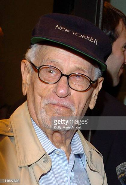 Eli Wallach during A Naked Girl on the Appian Way Broadway Opening Night Arrivals at American Airlines Theater in New York City New York United States