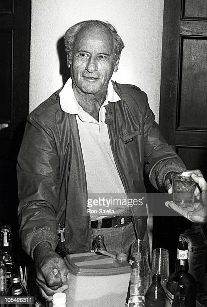 Eli Wallach during Annual Greenery=Scenery Cocktail Party at Montauk Manor in Montauk, New York, United States.