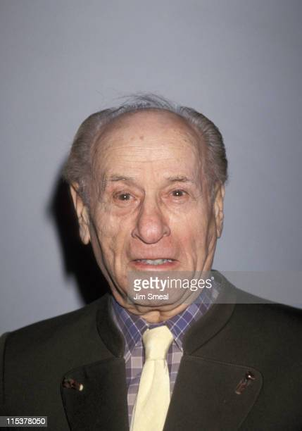 Eli Wallach during Arthur Miller Honored for 50th Anniversary of Broadway Debut at Booth Theater in New York City, New York, United States.