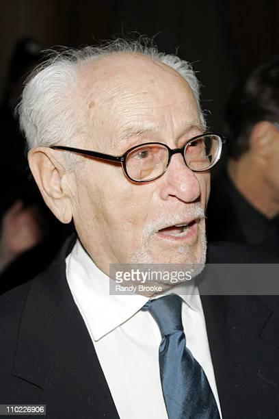 Eli Wallach during National Arts Club Celebration for The Stella by Starlight Gala at The Pierre Hotel in New York, United States.