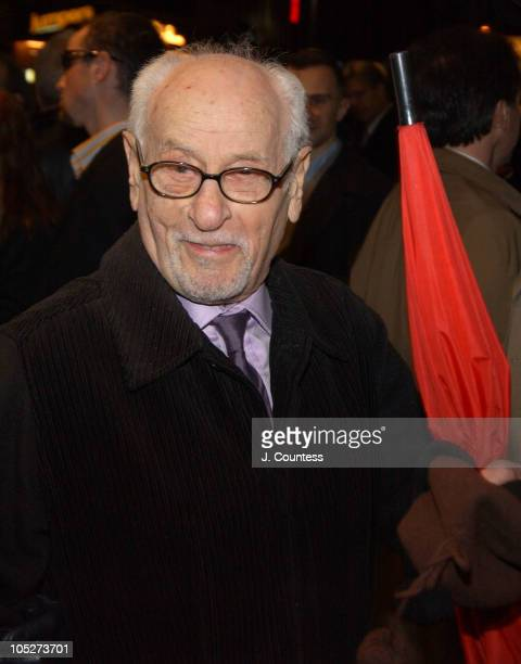 Eli Wallach during Opening Night of 'Sly Fox' on Broadway Arrivals at Ethel Barrymore Theatre in New York City New York United States