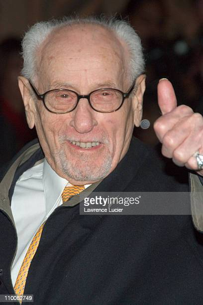 Eli Wallach during The 2006 National Board of Review of Motion Pictures Awards Gala - Outside Arrivals at Ciprians 42nd St in New York City, New...