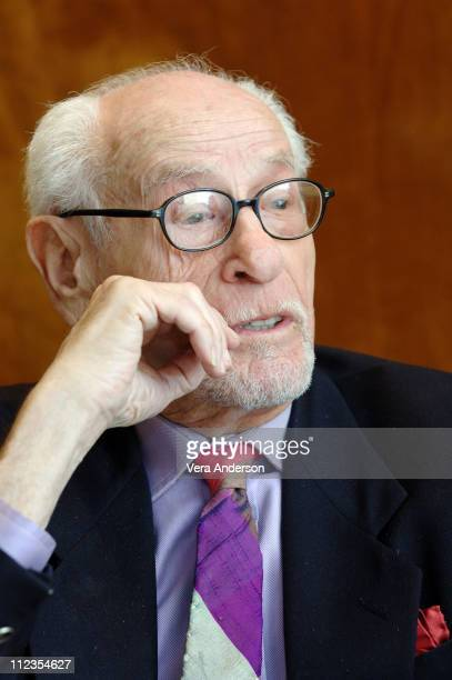 """Eli Wallach during """"The Holiday"""" Press Conference with Eli Wallach at The Regency Hotel in New York City, New York, United States."""